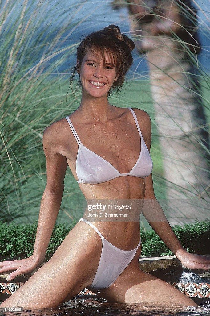 Elle Macpherson, Sports Illustrated, Swimsuit 1987 : News Photo