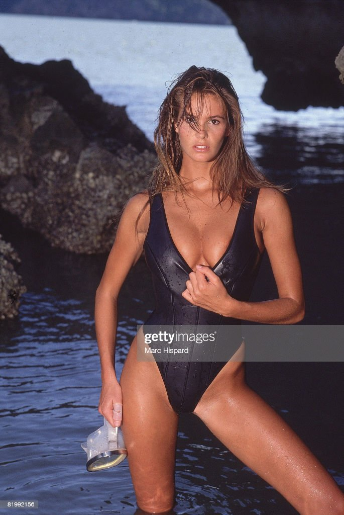 Elle Macpherson, Sports Illustrated, Swimsuit 1988 : News Photo
