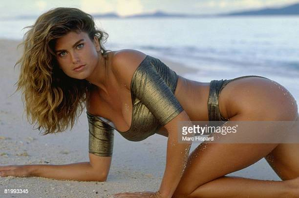 Swimsuit Issue 1988 Model Kathy Ireland is photographed for the 1988 Sports Illustrated Swimsuit issue on February 8 1988 on Ko Mai Phai island...