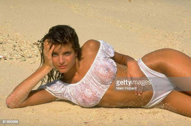 Swimsuit Issue 1988 Model Stephanie Seymour is photographed for the 1988 Sports Illustrated Swimsuit issue on February 8 1988 in Phuket Thailand...
