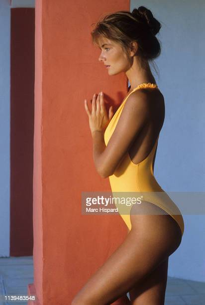 Swimsuit Issue 1989 Model Paulina Porizkova poses for the 1989 Sports Illustrated Swimsuit issue on March 8 1988 in Saint Barthélemy CREDIT MUST READ...