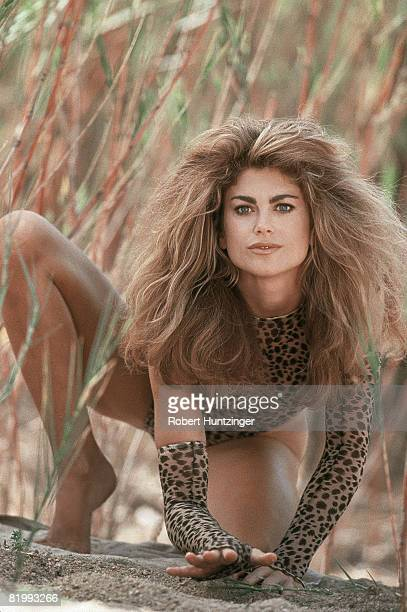 Swimsuit Issue 1996: Model Kathy Ireland poses for the 1996 Sports Illustrated Swimsuit issue in 1996 in South Africa. CREDIT MUST READ: Robert...