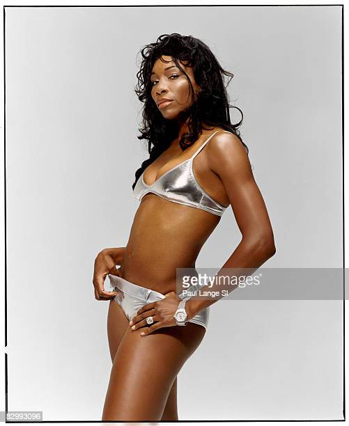 Swimsuit 2005 Issue Portrait of tennis player Venus Williams