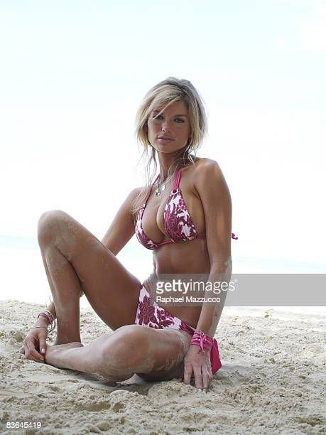 Model Marisa Miller poses at the Cave for the 2007 Sports Illustrated Swimsuit Issue on November 11 2006 in Negril Jamaica CREDIT MUST READ Raphael...