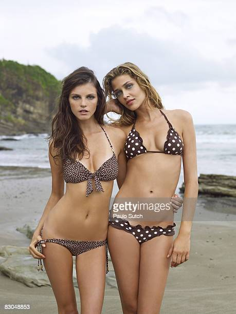 SAN JUAN DEL SUR NI Swimsuit 2008 Issue Portrait of Jeisa Chiminazzo and Ana Beatriz Barros at Morgan's Rock Hacienda and EcoLodge Published image