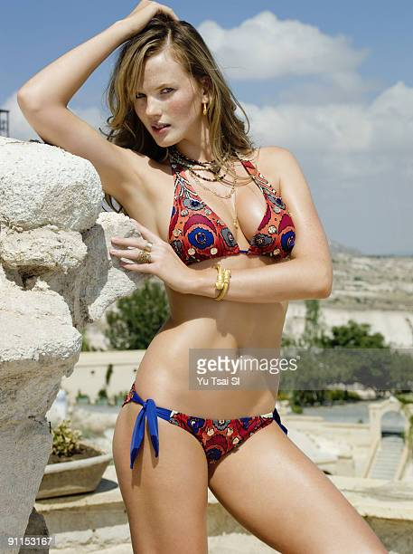 Swimsuit Issue 2009 Model Anne V poses for the 2009 Sports Illustrated Swimsuit Issue on September 1 2008 in Cappadocia Turkey PUBLISHED IMAGE CREDIT...