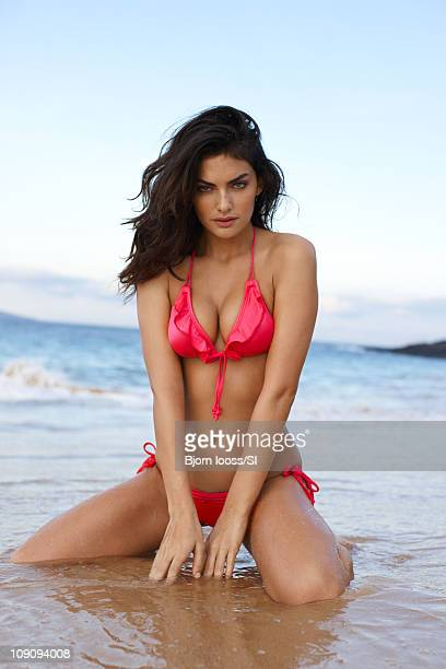 Model Alyssa Miller poses for the 2011 Sports Illustrated Swimsuit issue on November 20 2010 in Maui Hawaii PUBLISHED IMAGE CREDIT MUST READ Bjorn...