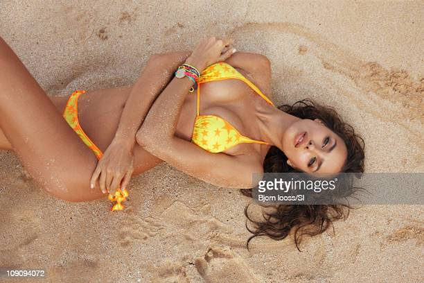 Model Irina Shayk poses for the 2011 Sports Illustrated Swimsuit issue on November 11 2010 in Maui Hawaii PUBLISHED IMAGE CREDIT MUST READ Bjorn...