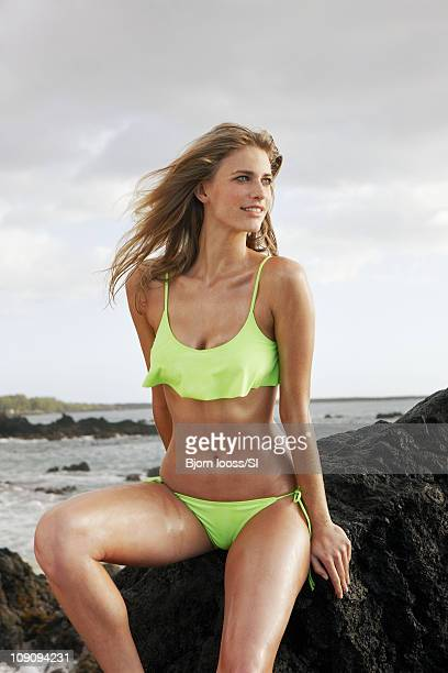 Model Julie Henderson poses for the 2011 Sports Illustrated Swimsuit issue on November 16 2010 in Maui Hawaii PUBLISHED IMAGE CREDIT MUST READ Bjorn...