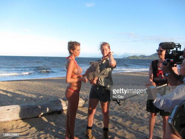 Swimsuit Issue 2012 Behind the scenes of the 2012 Sports Illustrated Swimsuit issue photographed in 2011 in Australia Pictured model Kate Upton...