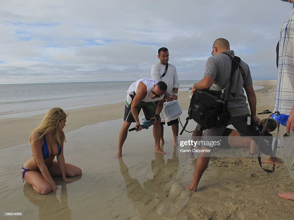 Behind the Scenes, Sports Illustrated, Swimsuit 2012 : News Photo