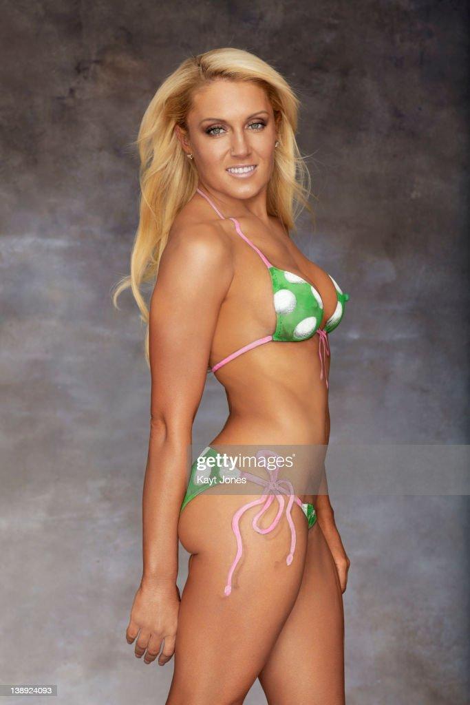 Natalie gulbis posing in bikini