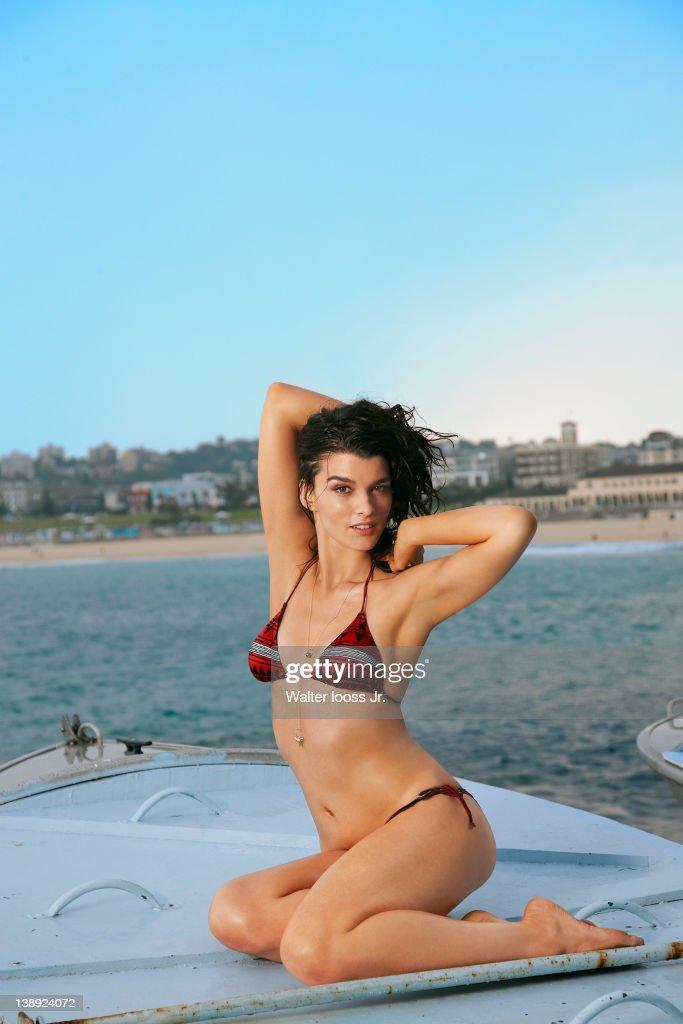 Crystal renn photos bikini