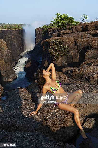 Swimsuit Issue 2012 Model Irina Shayk poses for the 2012 Sports Illustrated Swimsuit issue on October 3 2011 in Zambia PUBLISHED IMAGE CREDIT MUST...