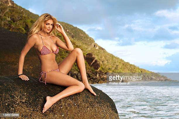 Swimsuit Issue 2012 Model Kate Upton poses for the 2012 Sports Illustrated Swimsuit issue on November 1 2011 in Cairns Australia PUBLISHED IMAGE...