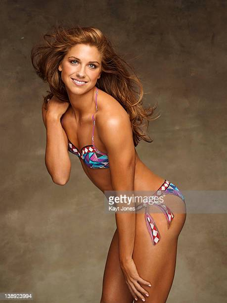 Swimsuit Issue 2012 Soccer player Alex Morgan poses for the 2012 Sports Illustrated Swimsuit issue on November 30 2011 in New York City Body painting...