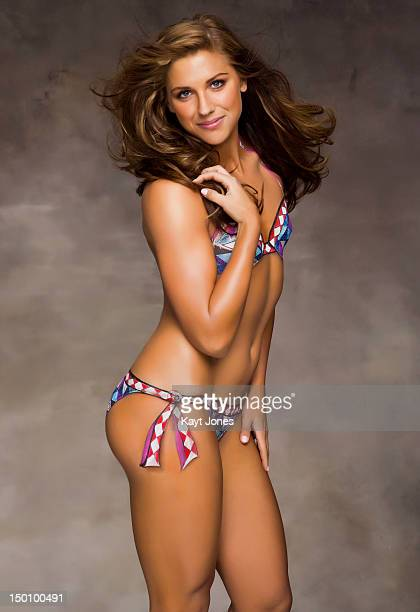 Swimsuit Issue 2012 Soccer player Alex Morgan poses for the 2012 Sports Illustrated Swimsuit issue on January 17 2012 in New York City Body painting...