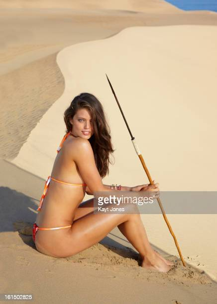 Swimsuit Issue 2013 Model Emily DiDonato poses for the 2013 Sports Illustrated Swimsuit issue on June 6 2012 in Namibia PUBLISHED IMAGE CREDIT MUST...