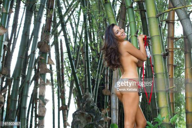Swimsuit Issue 2013 Model Jessica Gomes poses for the 2013 Sports Illustrated Swimsuit issue on September 14 2012 in Guilin China PUBLISHED IMAGE...