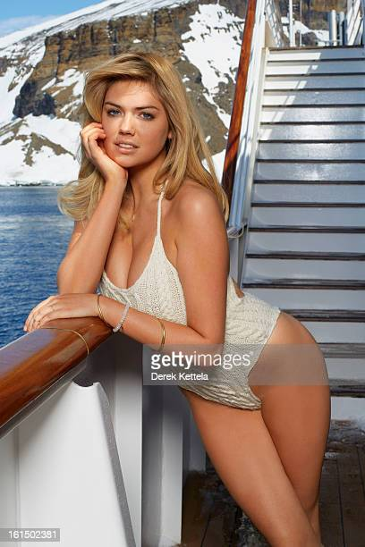 Swimsuit Issue 2013 Model Kate Upton poses for the 2013 Sports Illustrated Swimsuit issue on December 2 2012 in Antarctica PUBLISHED IMAGE CREDIT...