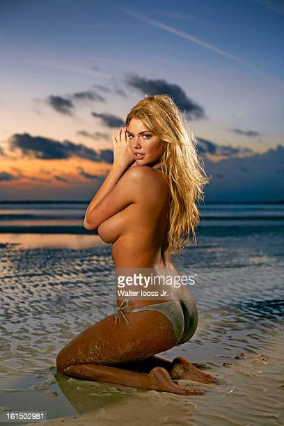 Swimsuit Issue 2013 Model Kate Upton poses for the 2013 Sports Illustrated Swimsuit issue on December 21 2012 in Great Exuma Island Bahamas PUBLISHED...