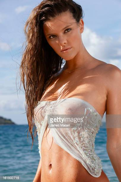 Swimsuit Issue 2013 Model Nina Agdal poses for the 2013 Sports Illustrated Swimsuit issue on May 13 2012 in Hayman Island Australia PUBLISHED IMAGE...