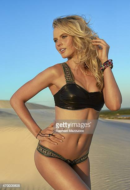 Swimsuit Issue 2014 Model Anne V poses for the 2014 Sports Illustrated Swimsuit issue on June 6 2013 in Brazil PUBLISHED IMAGE CREDIT MUST READ...
