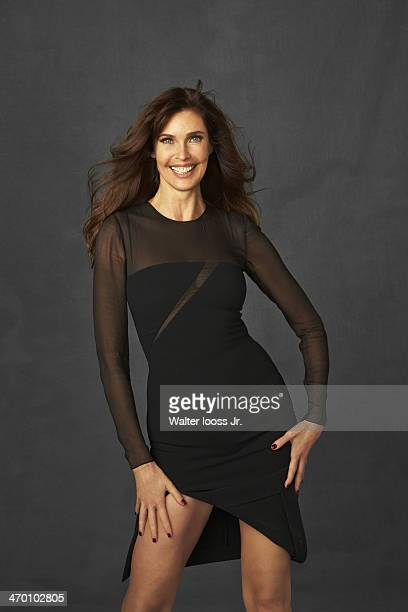 Swimsuit Issue 2014 Model Carol Alt poses for the 2014 Sports Illustrated Swimsuit issue on October 17 2013 in New York City PUBLISHED IMAGE CREDIT...