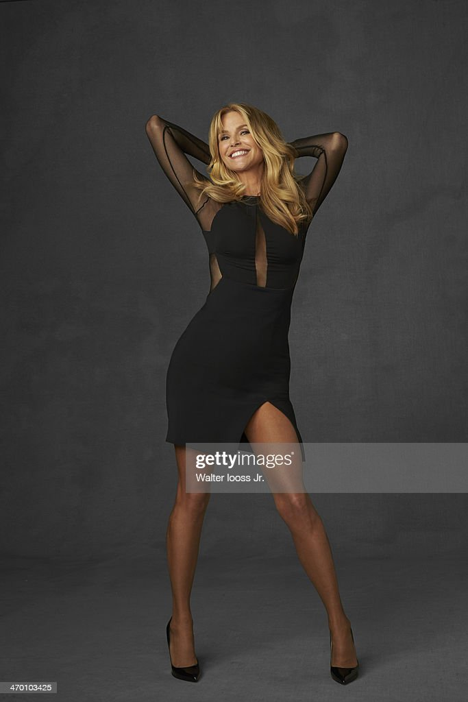 Model Christie Brinkley Poses For The 2014 Sports Illustrated