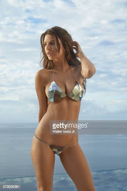 Swimsuit Issue 2014 Model Emily Ratajkowski poses for the 2014 Sports Illustrated Swimsuit issue on December 3 on Saint Lucia PUBLISHED IMAGE CREDIT...