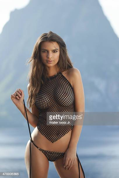 Swimsuit Issue 2014 Model Emily Ratajkowski poses for the 2014 Sports Illustrated Swimsuit issue on December 5 on Saint Lucia PUBLISHED IMAGE CREDIT...