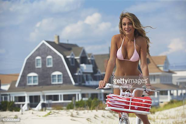 Swimsuit Issue 2014 Model Hannah Davis poses for the 2014 Sports Illustrated Swimsuit issue on September 8 2013 in Island Beach State Park in Seaside...