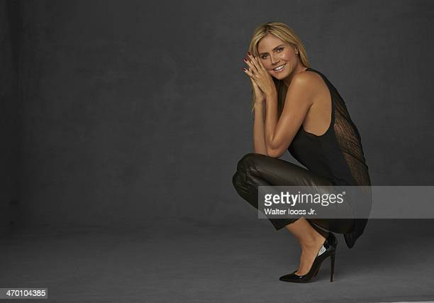 Swimsuit Issue 2014 Model Heidi Klum poses for the 2014 Sports Illustrated Swimsuit issue on October 17 2013 in New York City PUBLISHED IMAGE CREDIT...
