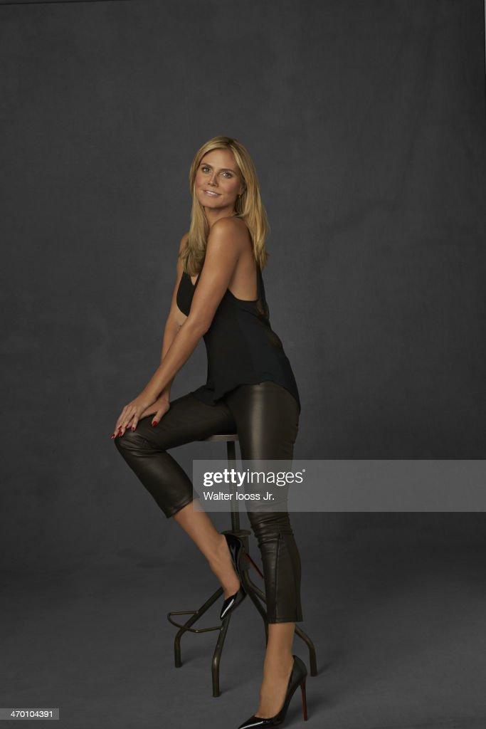 Model Heidi Klum poses for the 2014 Sports Illustrated ...  Model Heidi Klu...
