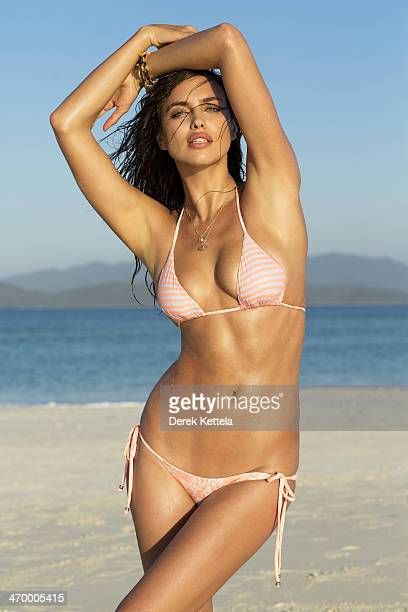 Swimsuit Issue 2014 Model Irina Shayk poses for the 2014 Sports Illustrated Swimsuit issue on September 27 in Madagascar PUBLISHED IMAGE CREDIT MUST...