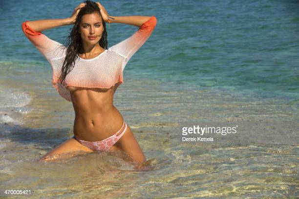 Swimsuit Issue 2014 Model Irina Shayk poses for the 2014 Sports Illustrated Swimsuit issue on September 28 in Madagascar PUBLISHED IMAGE CREDIT MUST...