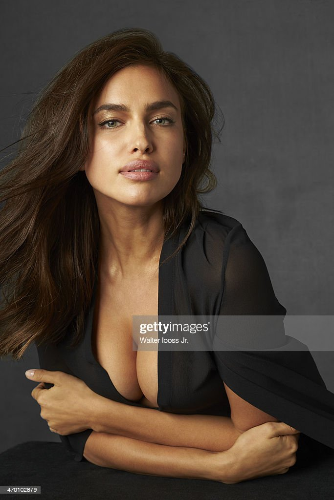 Model Irina Shayk poses for the 2014 Sports Illustrated Swimsuit issue on October 17, 2013 in New York City. PUBLISHED IMAGE.