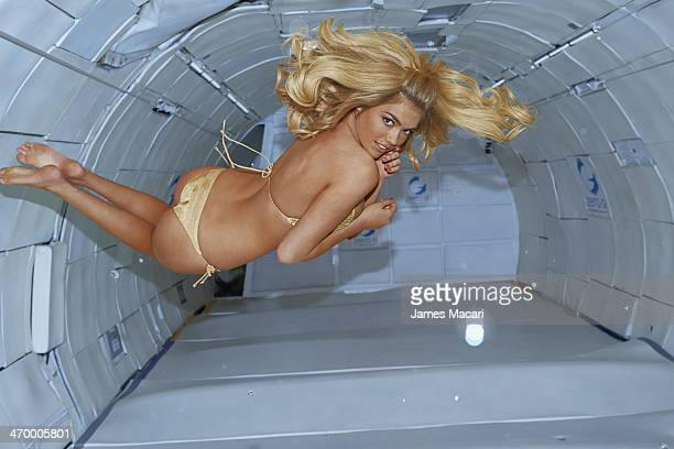 Swimsuit Issue 2014 Model Kate Upton poses for the 2014 Sports Illustrated Swimsuit issue on May 18 2013 in Cape Canaveral Florida PUBLISHED IMAGE...