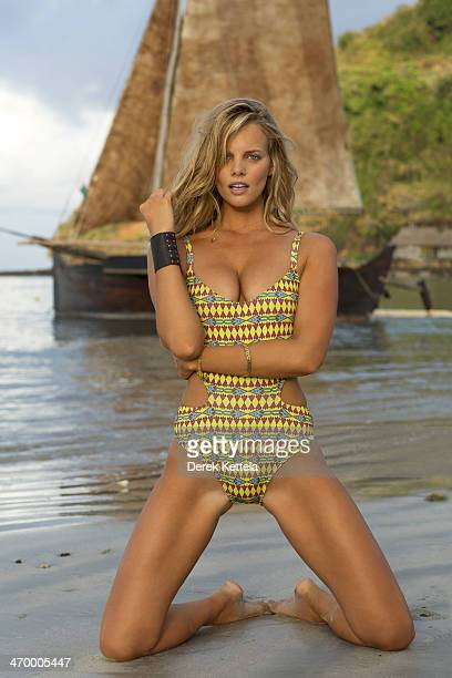 Swimsuit Issue 2014 Model Marloes Horst poses for the 2014 Sports Illustrated Swimsuit issue on September 25 in Madagascar PUBLISHED IMAGE CREDIT...