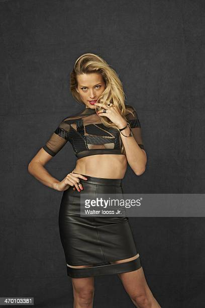 Swimsuit Issue 2014 Model Petra Nemcova poses for the 2014 Sports Illustrated Swimsuit issue on October 17 2013 in New York City PUBLISHED IMAGE...