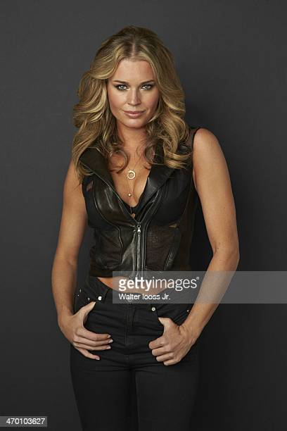 Swimsuit Issue 2014 Model Rebecca Romijn poses for the 2014 Sports Illustrated Swimsuit issue on October 17 2013 in New York City PUBLISHED IMAGE...
