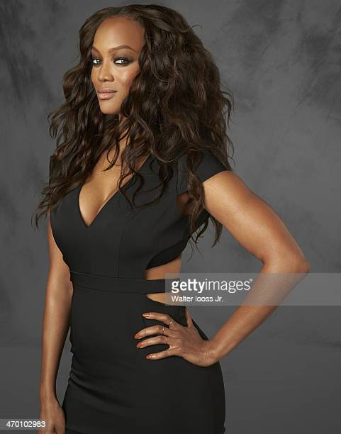 Swimsuit Issue 2014 Model Tyra Banks poses for the 2014 Sports Illustrated Swimsuit issue on October 17 2013 in New York City PUBLISHED IMAGE CREDIT...