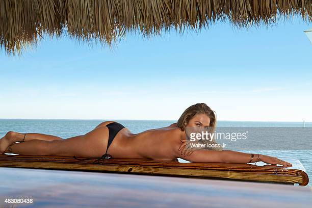 Swimsuit Issue 2015 Mix martial artist Ronda Rousey poses for the 2015 Sports Illustrated Swimsuit issue on November 11 2014 on Captiva Island...