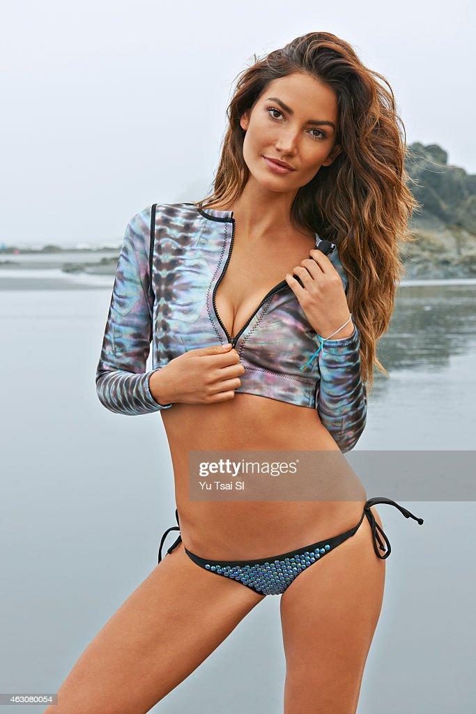 Lily Aldridge, Sports Illustrated, Swimsuit 2015 : News Photo