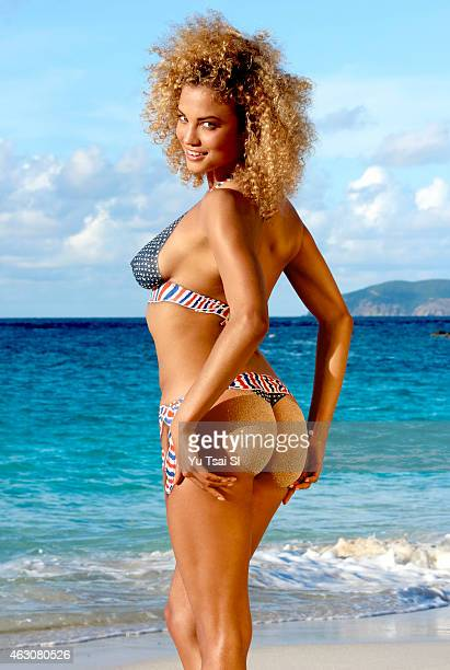 Swimsuit Issue 2015 Model Rose Bertram poses for the 2015 Sports Illustrated Swimsuit issue on December 11 2014 on St John in the US Virgin Islands...