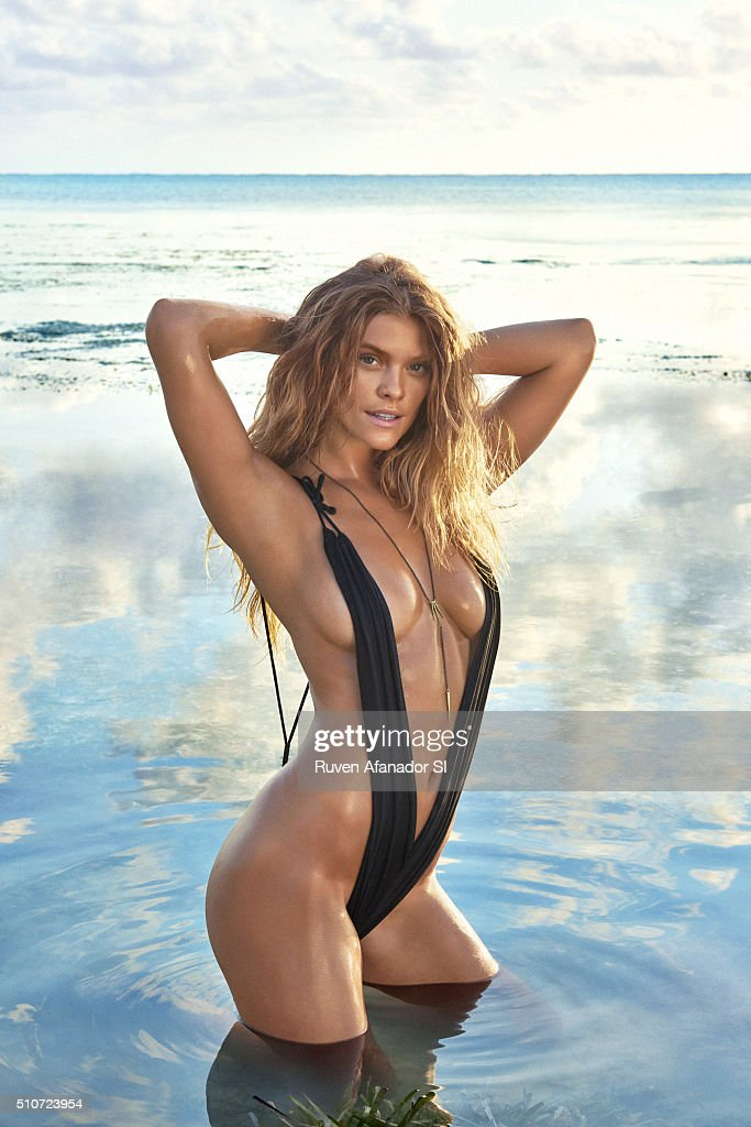 Model Nina Agdal poses for the 2016 Sports Illustrated Swimsuit issue on July 15, 2015 in Zanzibar. PUBLISHED IMAGE.