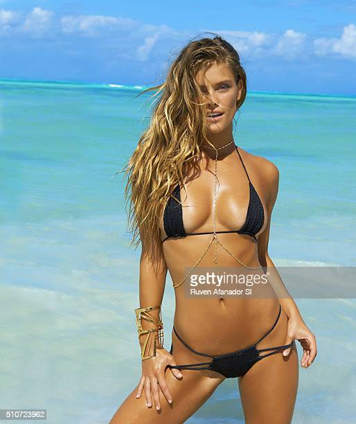 Model Nina Agdal poses for the 2016 Sports Illustrated Swimsuit issue on July 16 2015 in Zanzibar PUBLISHED IMAGE CREDIT MUST READ Ruven...