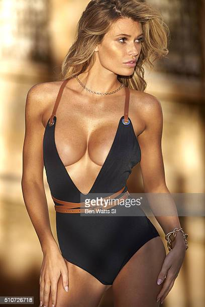 Model Samantha Hoopes poses for the 2016 Sports Illustrated Swimsuit issue on September 22 2015 in Malta PUBLISHED IMAGE CREDIT MUST READ Ben...
