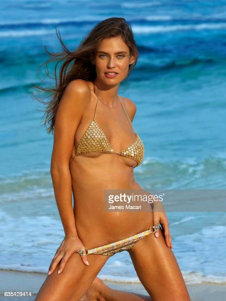 Model Bianca Balti poses for the 2017 Sports Illustrated swimsuit issue on October 14 2016 on Sumba Island Bali Indonesia PUBLISHED IMAGE CREDIT MUST...
