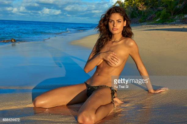 Model Bo Krsmanovic poses for the 2017 Sports Illustrated swimsuit issue on November 11 2016 in Fiji PUBLISHED IMAGE CREDIT MUST READ Yu Tsai/Sports...
